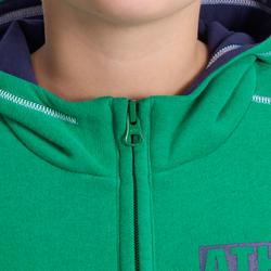 Warm ritsjack met kap print gym jongens - 936354