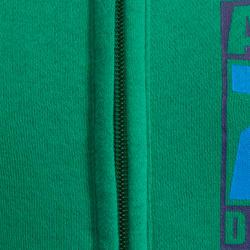 Warm ritsjack met kap print gym jongens - 936355