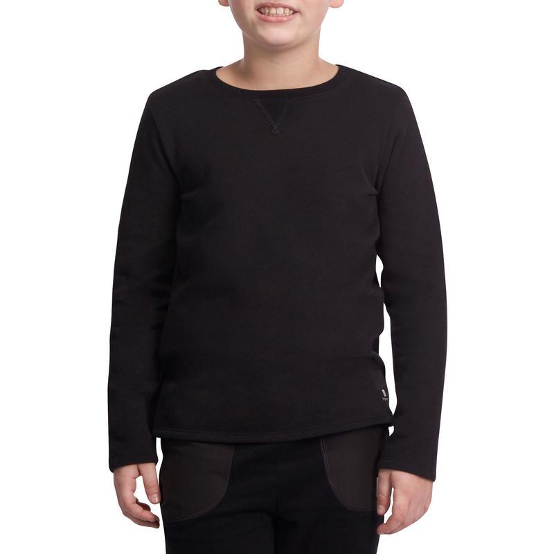7ff23fcd2e Blusa Infantil Masculina de Ginástica Domyos