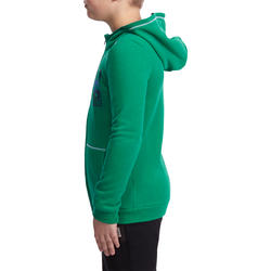 Warm ritsjack met kap print gym jongens - 936535