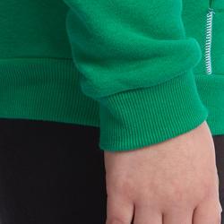 Warm ritsjack met kap print gym jongens - 936546