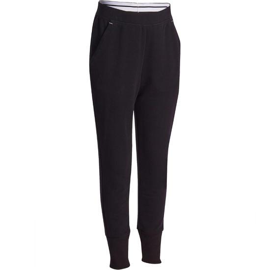 Warme gym broek voor meisjes, slim fit - 936734