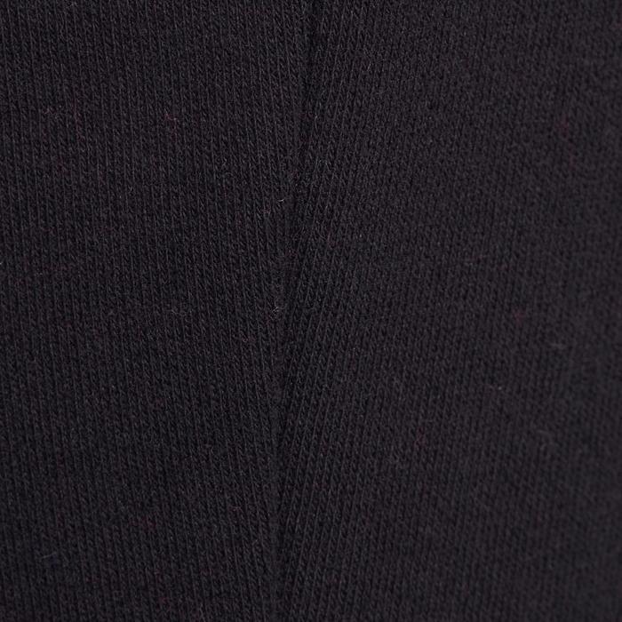 Pantalón 520 cálido slim gimnasia niña bolsillos negro