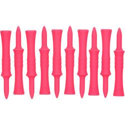 Step tee 46 mm x10 roze - 936932