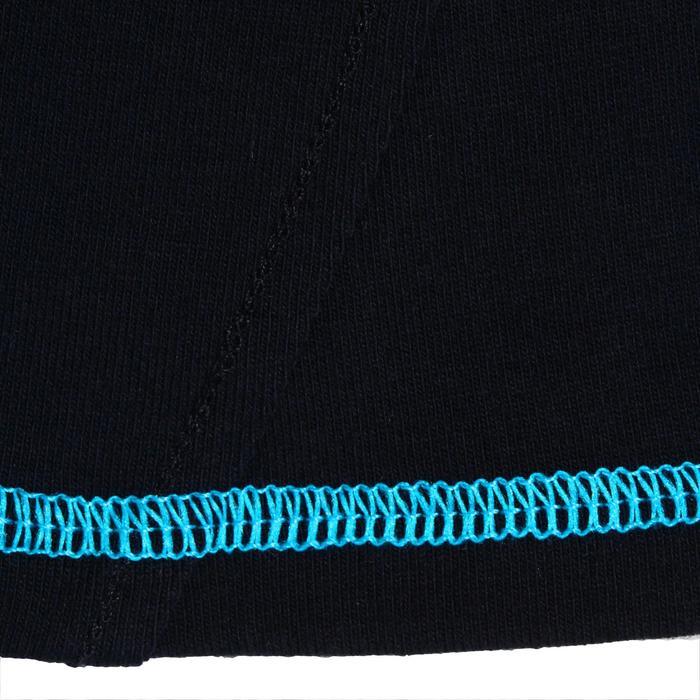 Polo manches courtes équitation enfant brodé HORSERIDING marine - 936986