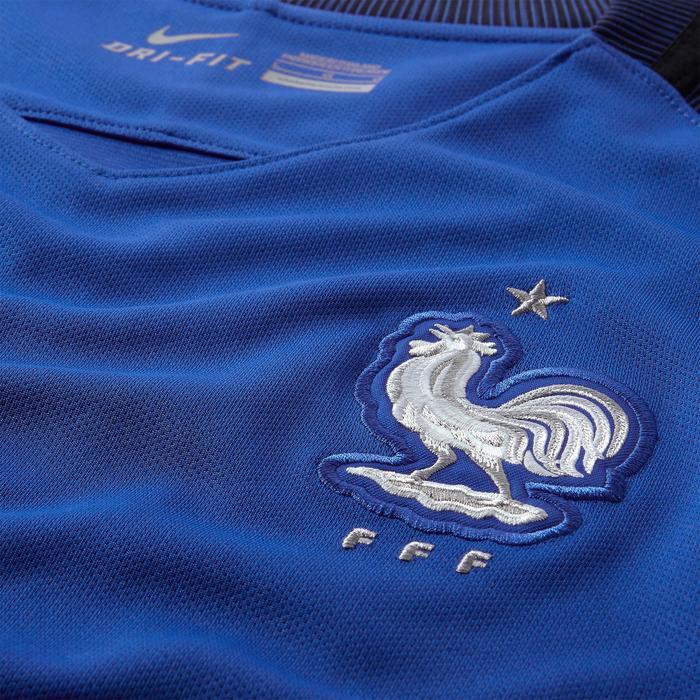 Maillot football enfant réplique FFF domicile bleu marine - 937119