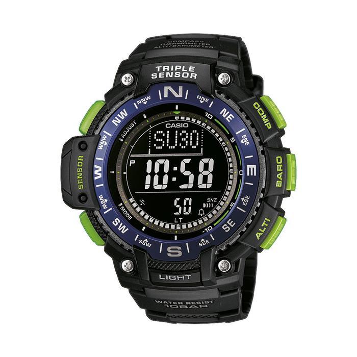 Montre baromètre et altimètre SGW 1000 2BER noire - 937515