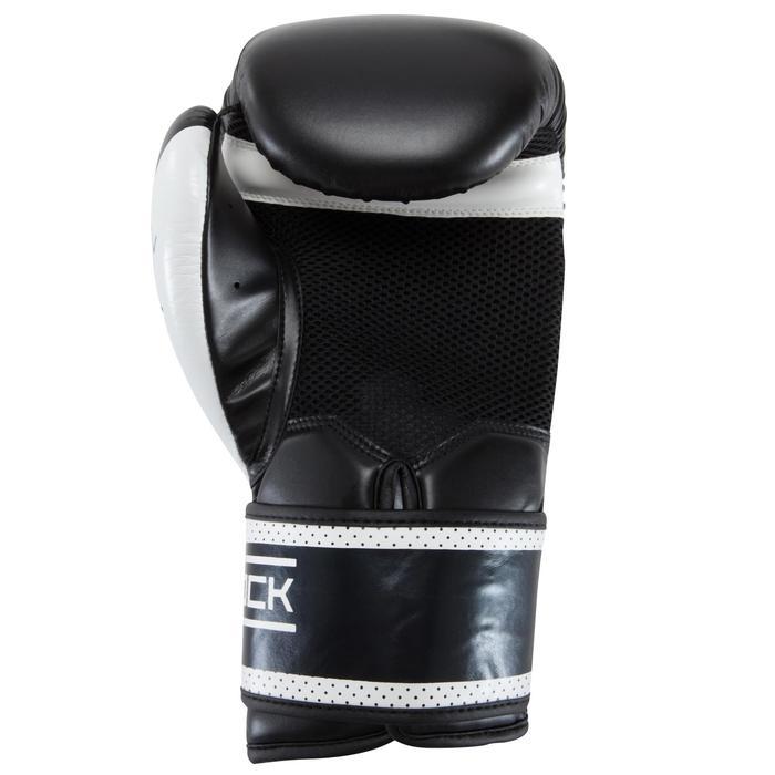 gants de boxe 300 blancs , gants d'entraînement débutant homme ou femme - 937599