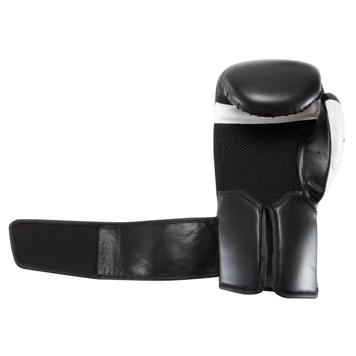 gants de boxe 300 blancs , gants d'entraînement débutant homme ou femme - 937602