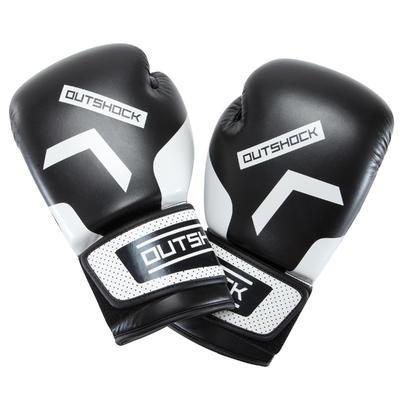 قفازات تدريب على الملاكمة للمبتدئين 300 - لون أسود