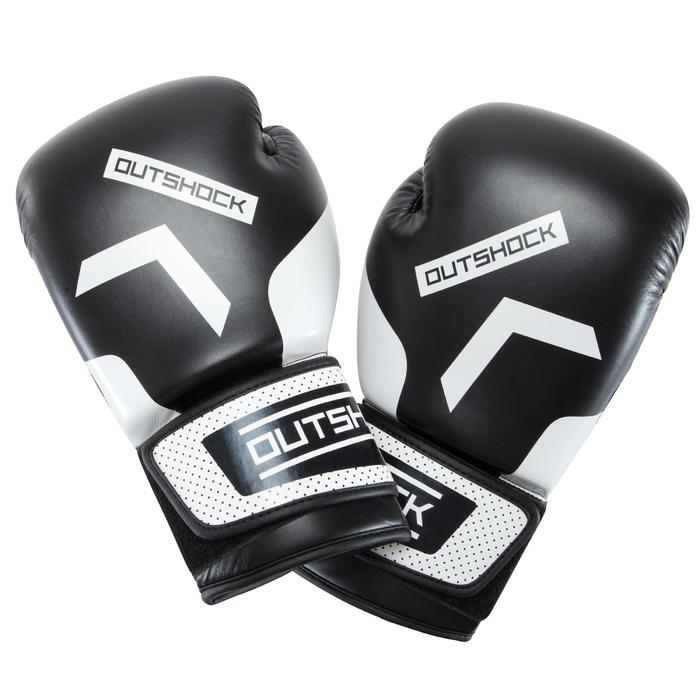 gants de boxe 300 blancs , gants d'entraînement débutant homme ou femme - 937603