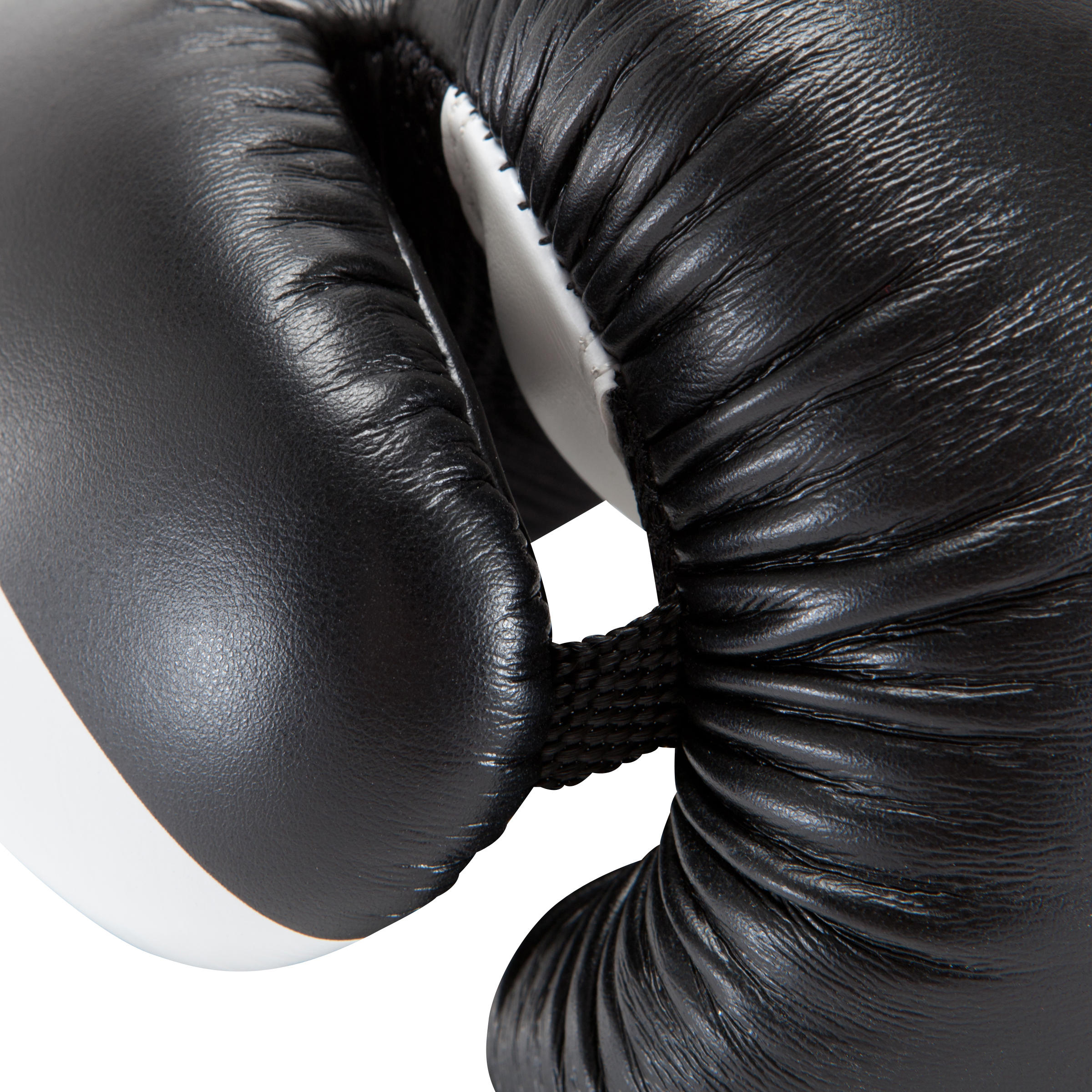 300 Beginner Adult Boxing Training Gloves - Black