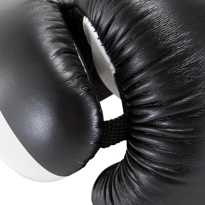 gants de boxe 300 blancs , gants d'entraînement débutant homme ou femme - 937604