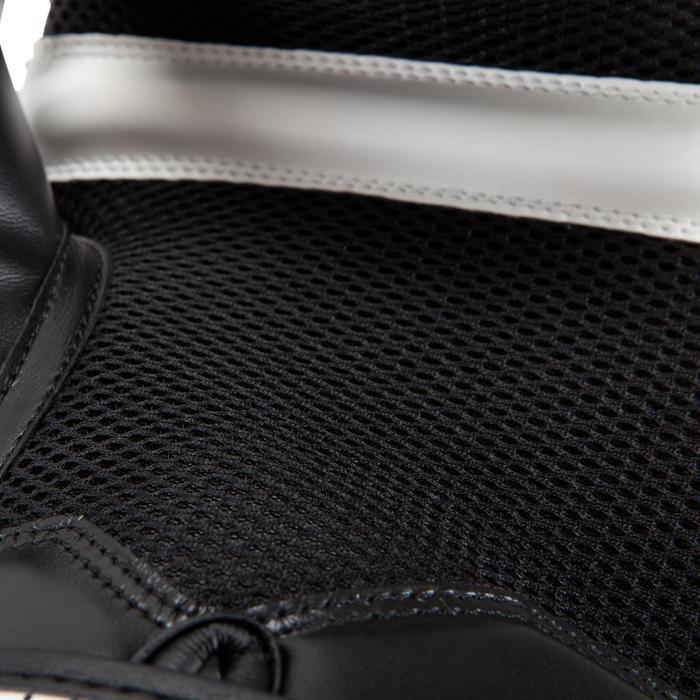 gants de boxe 300 blancs , gants d'entraînement débutant homme ou femme - 937614