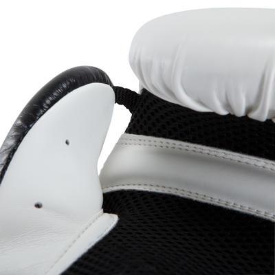 Guantes de entrenamiento boxeo principiante hombre/mujer Boxing Gloves300 Blanco