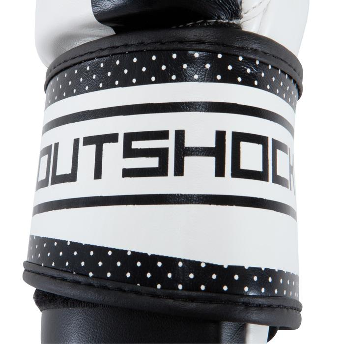 300 Beginner Adult Training Boxing Gloves - White