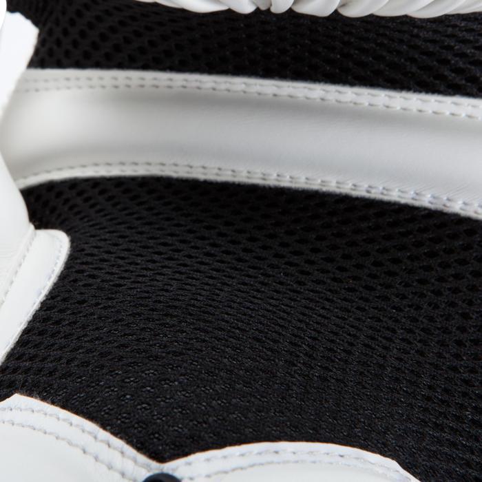 gants de boxe 300 blancs , gants d'entraînement débutant homme ou femme - 937623