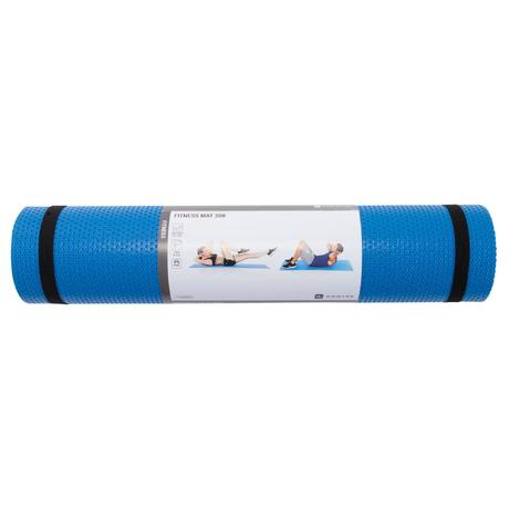 tapis gym pilates 500 bleu previous next - Tapis De Gym
