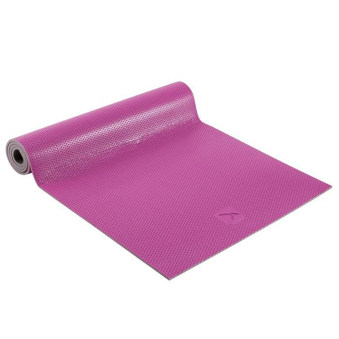 Schoenbestendig gymmatje voor pilates/figuurtraining 500 M 7 mm roze