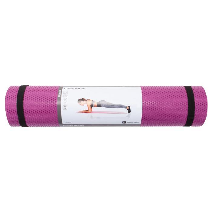 Esterilla Pilates Domyos 500 Toning Rosa Talla M 7MM resistente al calzado