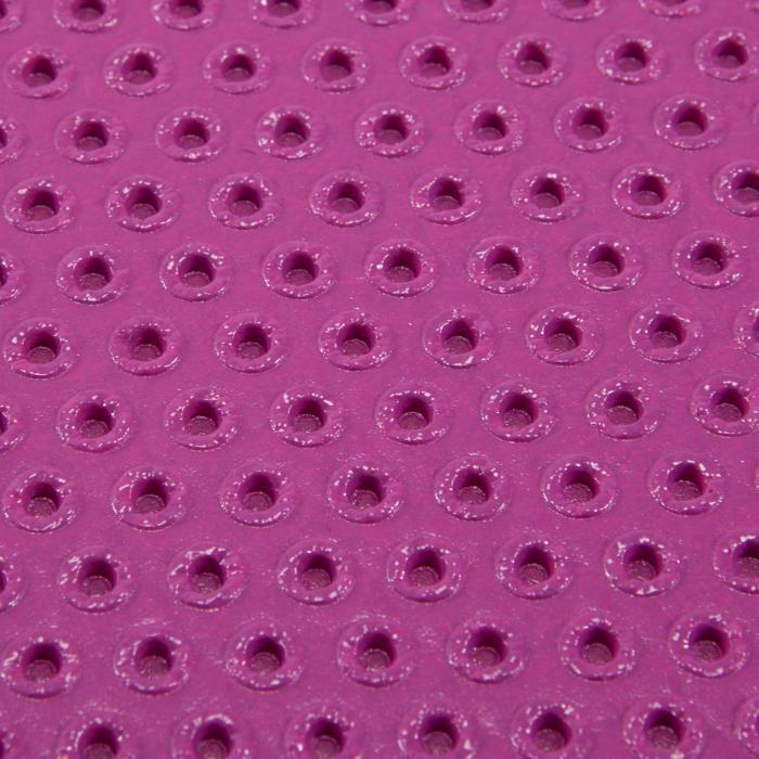 Gymnastikmatte 500 abriebfest Pilates Toning Größe M 7mm rosa