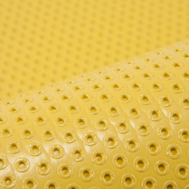 Gym Mat Shoe-Resistant Floor Mat Size M 7 mm - Yellow