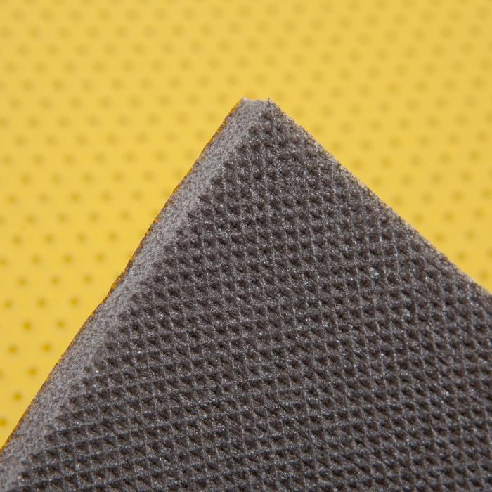 tapis de sol 500 gym stretching jaune - Tapis Sol