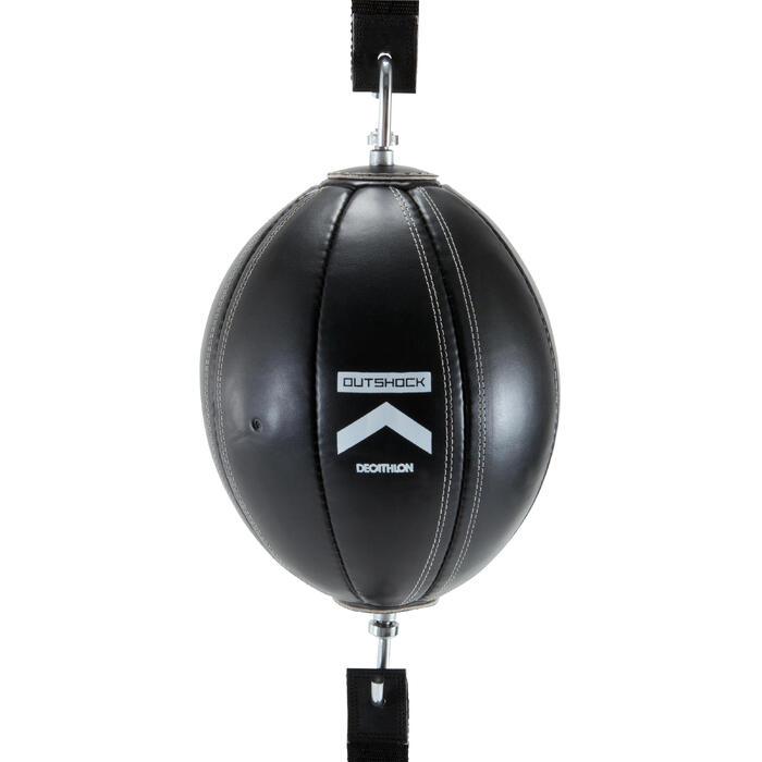 Boksbal met twee elastieken
