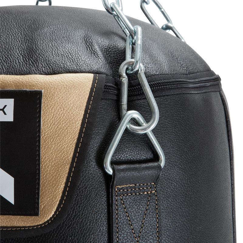 PB 1500 Leather Punch Bag - Black