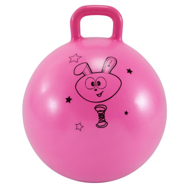 Kids' Gym Hopper Ball Resist 45 cm - Pink