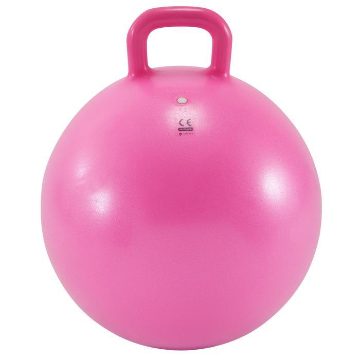 Pelota Saltarina Balón Saltador Gimnasia Domyos AB 45CM Niño Rosa