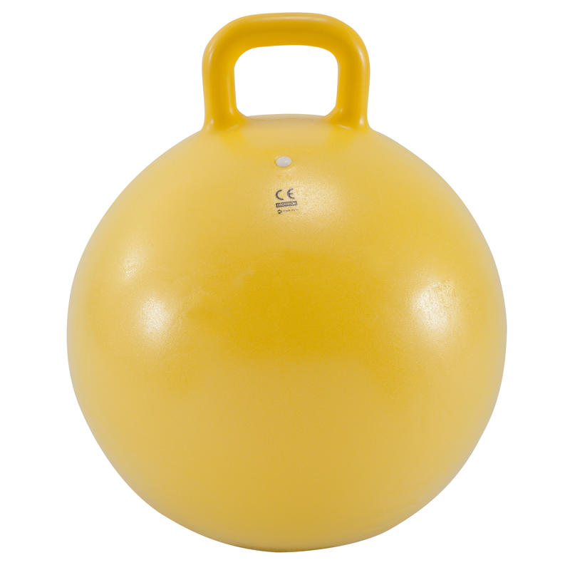 Resist 45 cm Kids' Gym Space Hopper - Yellow