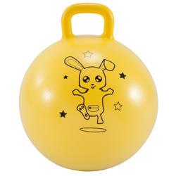 Hüpfball Resist 45cm Kinder gelb