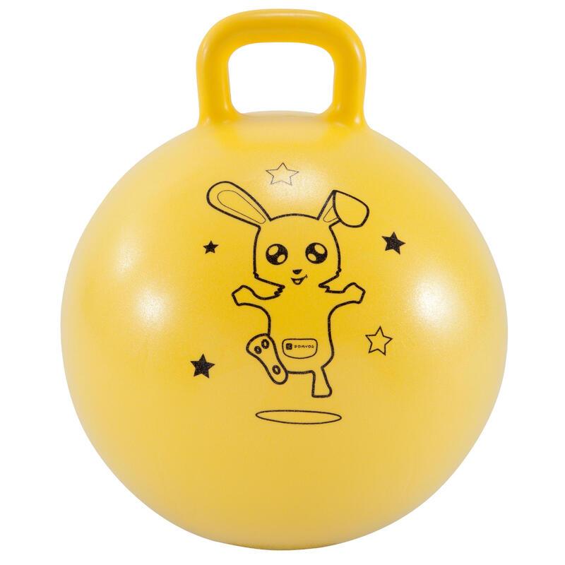 Minge de sărit Resist 45 cm educație fizică galben copii