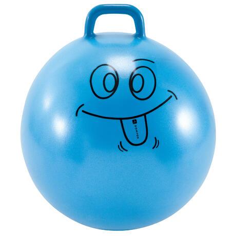 palla per saltare bambino ginnastica resist 60cm azzurra domyos by decathlon. Black Bedroom Furniture Sets. Home Design Ideas