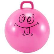Lopta za skakanje Resist 60 cm za gimnastiku za djecu ružičasta