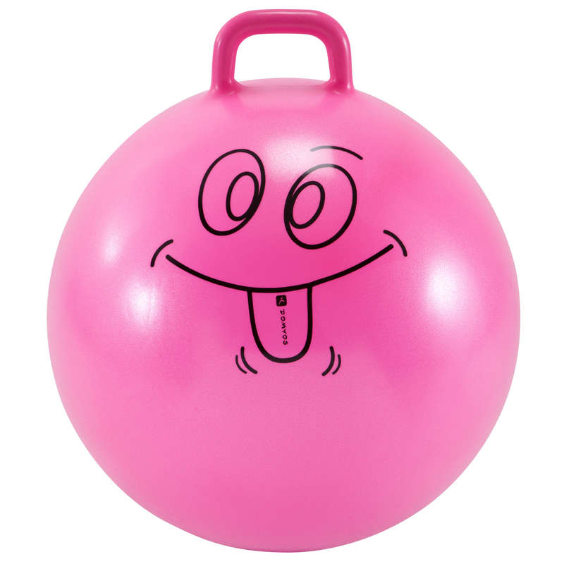 BABY GYM SMALL EQUIPMENT Outdoor Activities - Resist 60 cm Space Hopper DOMYOS - Kids