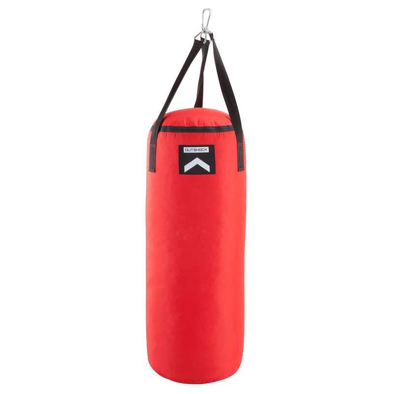 PUNCHING BAGS Boxing - Punching Bag 850 - Red OUTSHOCK - Boxing Training Equipment