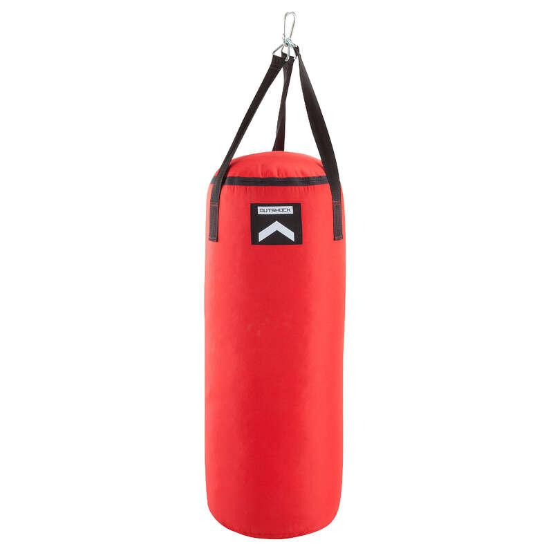 BOXNINGSSÄCKAR Boxning - Boxningssäck 850 Röd OUTSHOCK - Boxningssäckar och Boxningssköldar