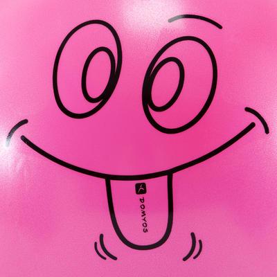 Balón saltador Resist 60 cm gimnasia niños rosado