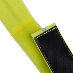 500 Velcro Cycling Leg Band - Yellow