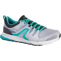 Zapatillas de marcha deportiva para mujer PW 240 gris / azul