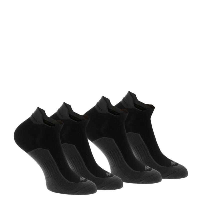PONOŽKY NA HORSKOU TURISTIKU Turistika - Nízké ponožky NH 500 2 páry QUECHUA - Turistické doplňky