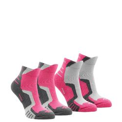 Crossocks 兒童中筒健行運動襪 2雙入 - 米黃