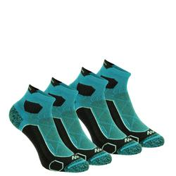 Chaussettes de randonnée montagne tiges mid. 2 paires Forclaz 500