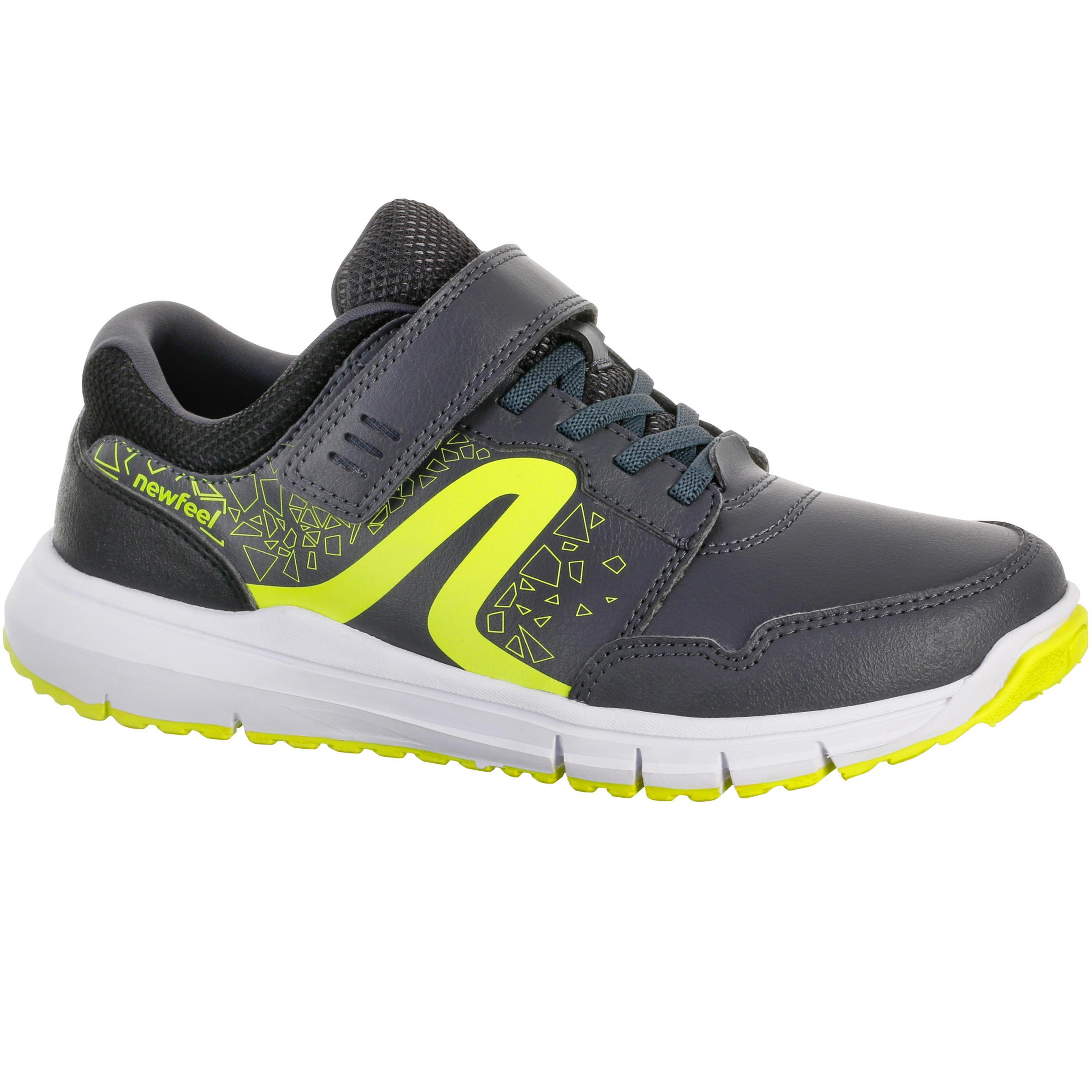 Zapatillas de marcha deportiva para niños Protect 140 blanco