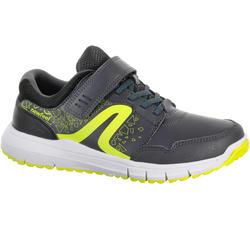 Zapatillas de marcha deportiva para niños Protect 140 gris / amarillo