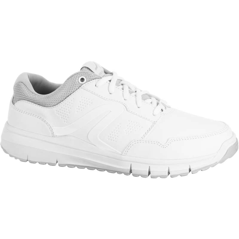 WOMEN SPORT WALKING SHOES Hiking - Protect 140 - White NEWFEEL - Outdoor Shoes