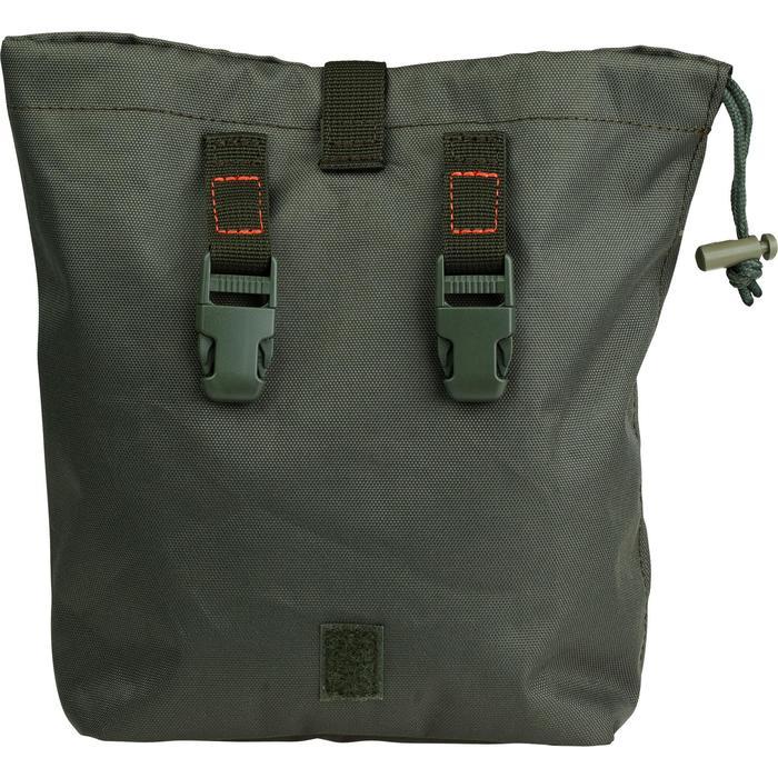 Bolsa Caza Solognac X-ACCESS 3.5 Litros Multiusos Plegable Verde