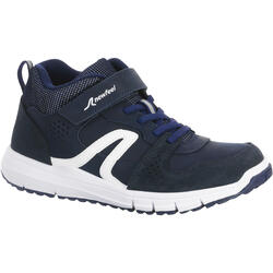 兒童款皮革健走鞋Protect 560 -軍藍色/白色